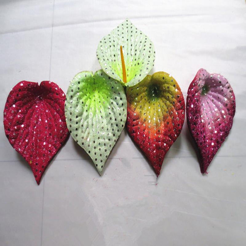 artificial flower manufactor direct sale real touch flowers wholesale for flower making silk print calla petal