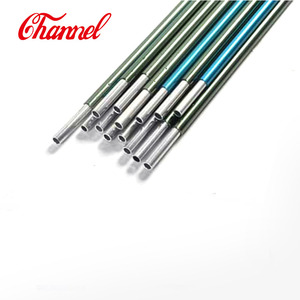 Customized aluminum adjustable tent poles , replacement tent poles aluminum