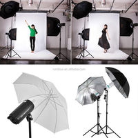 non-woven fabric Backdrop Stand Soft Box Photography Photo Video Studio Light Kit photography studio continuous light kit