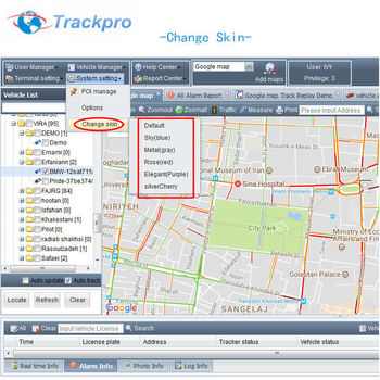 Gps Tracking Software Platform With Java Open Source Code And Android / Ios  / Ios App For Thailand Dlt Project - Buy System Platform Gps Software,Web