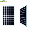 transparent thin film solar panel for BIPV