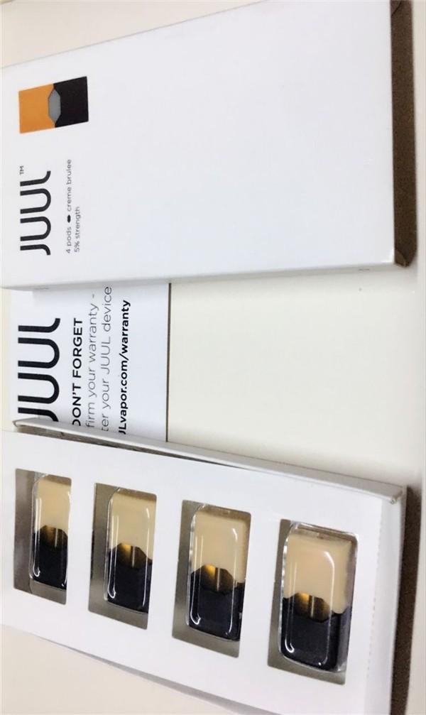 clone juul pods 4 package cartridge JUUL 200 puffs Vaporizer