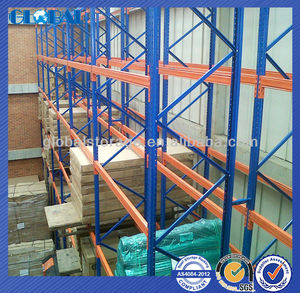 Certificated Storage Steel Shelf Pallet Stacking Racking / Shelves for Warehouse / Store / Supermarket Storage