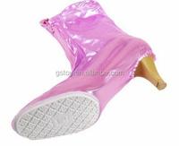 ladies PVC rain boots cover