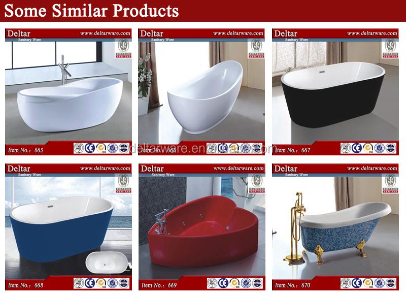 simple bathroom tubs, small/big size thicken fiber bathtub oval ...