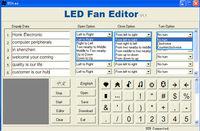 New Fan Walmart Programmable Usb Fan With Led Message - Buy Usb ...
