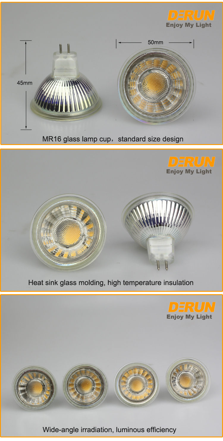 MR16 LED Bulbs 7W 12V Spot 50W Halogen Equivalent Soft White Recessed Light GU5.3 Base 2700K Reflector Lamp 560LM , LED-MR16