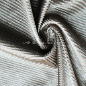 Cheap Lining Fabric Polyester Knitted Tricot Dazzle Fabric