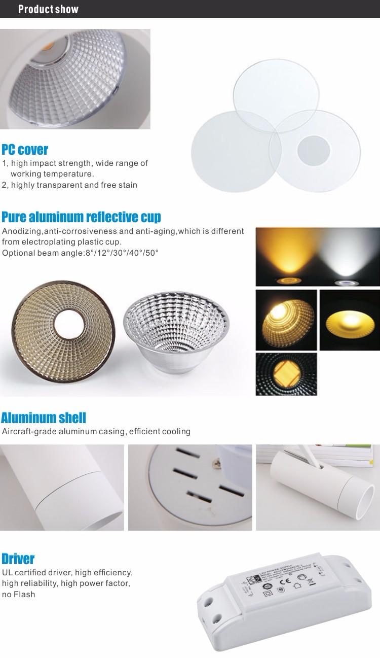 high power factor led down light round tube aluminum rail lighting for clothes shop  sc 1 st  Alibaba & High Power Factor Led Down Light Round Tube Aluminum Rail Lighting ... azcodes.com