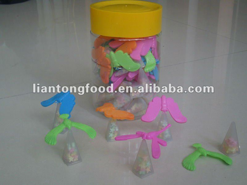new flying bird toy candy/desk decoration set