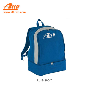 High quality sport backpack with shoe compartment
