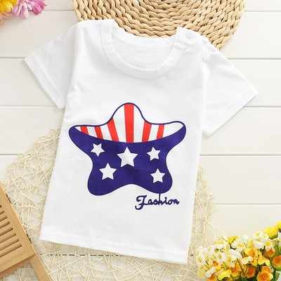 TX-MS-004 OEM custom infant toddler kids printed bulk plain white 100% cotton baby t shirts wholesale