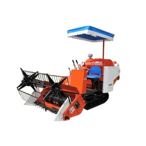 Hot Sale Grain Combine Harvester for Rice and Wheat with Rated Feed Capacity 1.5kgs/s
