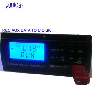 mp3 player bluetooth  board with audio module, REC data from aux and line-in,