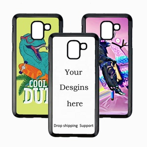 New Style logo Phone Cases Customized Logo Wholesale Cell Phone Case For Samsung J6 Phone Case Dropshipping Support