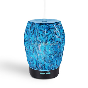 Gemstone Blue Aroma Diffuser Ultrasonic Humidifier Oil Nebulizer Fragrance Diffuser For Essential Oil