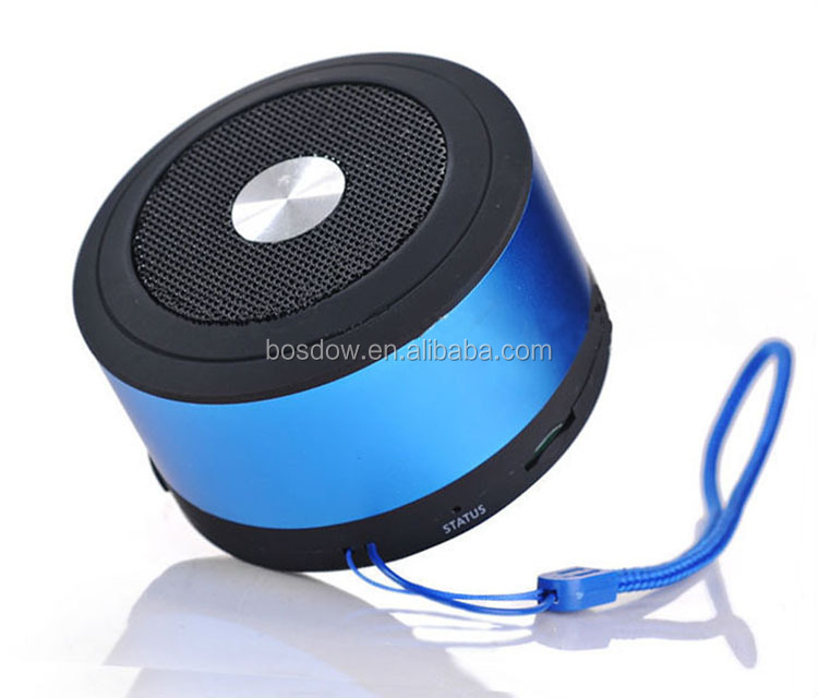 BS-N8 bluetooth mini speaker Rechargeable with built-in microphone portable wireless support tf card