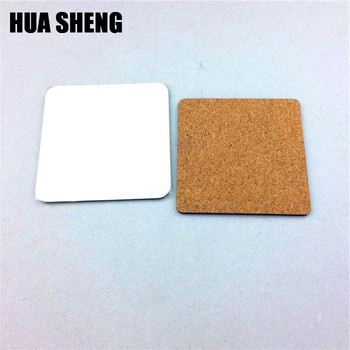 Wholesale Blank Mdf Sublimation Coaster With Cork Bottom Buy - Cork coaster bottoms