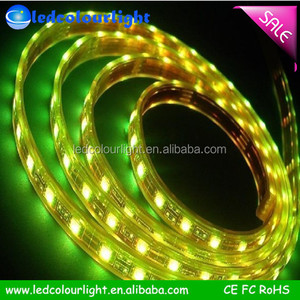 IP68 Outdoor High Flux 5050 LED Stripe, RGB/White/Warm White SMD 5050 Flexible LED Strip with CE RoHS