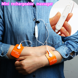 Portable rechargeable Mini Body Digital/Electronic penis massage therapy TENS/ EMS pulse Massager low frequency therapy devices
