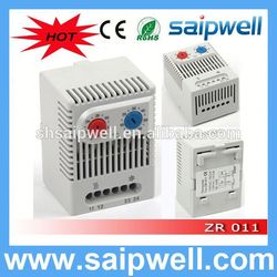 saip/saipwell high quality adjustable bimetallic thermostat, temperature controller thermostat 110v ZR011