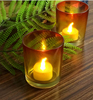 Haonai 2016 wholesale fancy glass candle holder