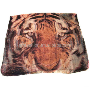Fashion New Ladies Long Tiger Head Print Viscose Shawl/Scarf
