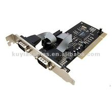 PCI to Serial Card Rs 232 card PCI RS232 Serial Port to Two COM Ports PCI Card