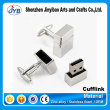 wholesale gold silver usb flash drive cufflinks