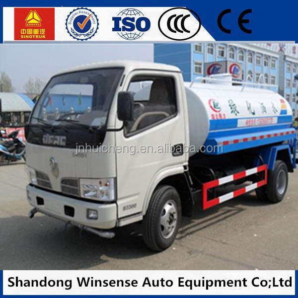 On good sale 4*2 Truck Water Tanks For Water Storage Transportation
