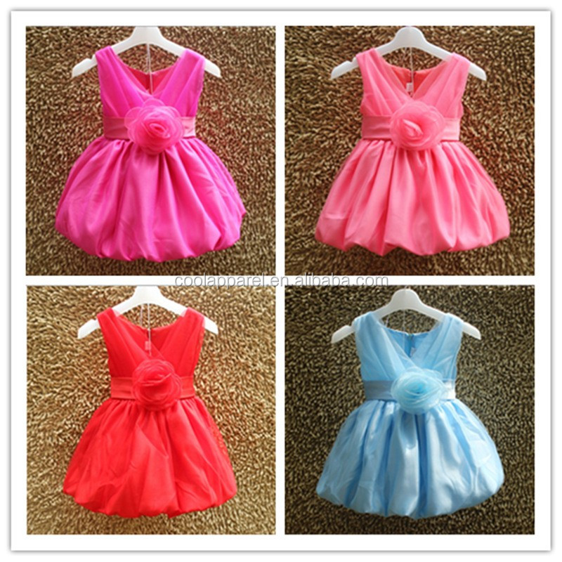 Birthday Party Wear Summer 1 6 Years Old Simple Frock Baby Girl