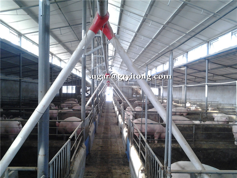 Hot dipped galvanized finishing pig pens cage