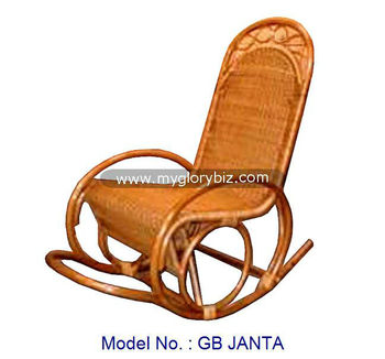 Antique Natural Rattan Rocking Chair Furniture For Living Room, Rocking  Chair, Rattan Furniture Malaysia. View Larger Image