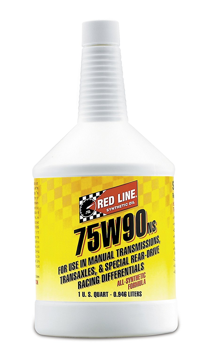 Red Line 58304-12PK 75W90 Non-Limited Slip Synthetic Gear Oil - 1 Quart, (Pack of 12)