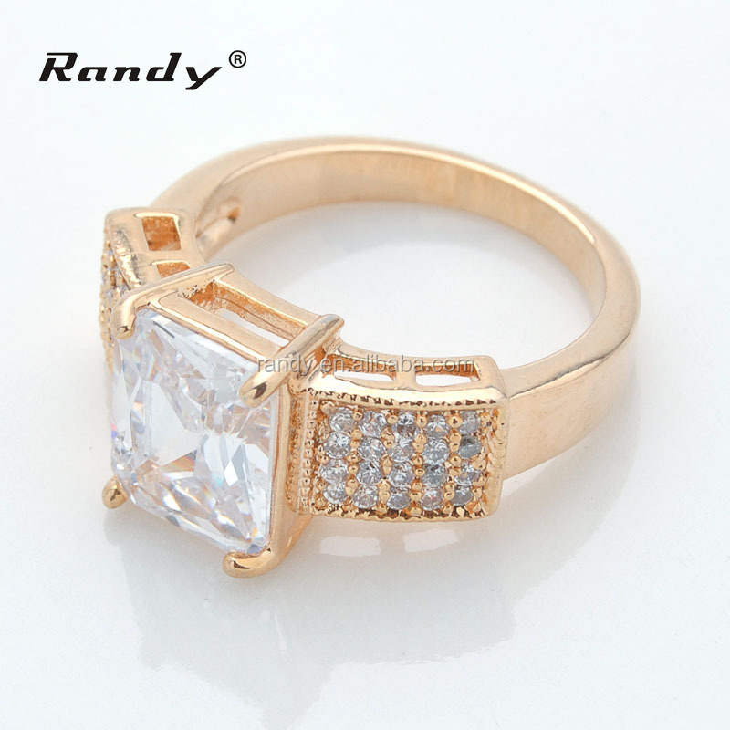 Saudi Arabia 18K Gold Wedding Ring Price For Ladies Gold Finger Ring