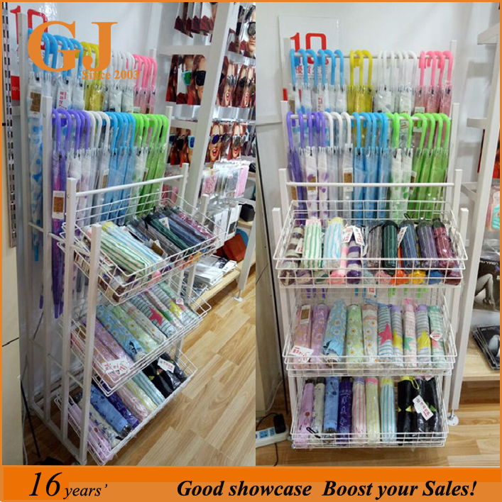 Miniso wholesale Hot Sale Umbrella Display Stand For <strong>Retail</strong> Stores