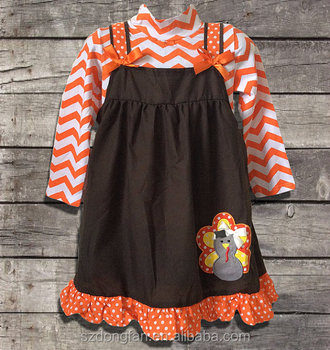 7525be41d Top Quality Fall Boutique Girl Clothing Outfits 2 Pieces Chevron ...