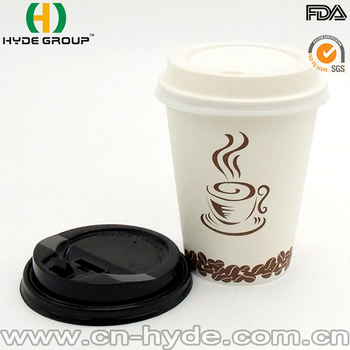 Popular Big Size Paper Cup For Cano Cafe With Company Logo