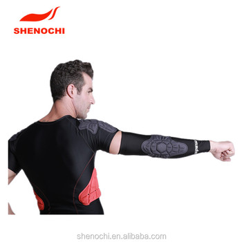 Outdoor sports high quality Anti-collision padded arm protector