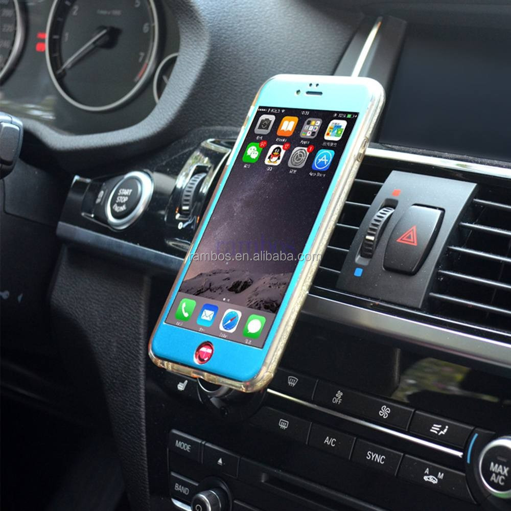 Wholesale Universal Car Air Vent Phone Mount Magnetic Smartphone Car Mounts Holder for 6S for iPhone 7