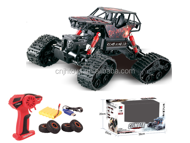 New invader 2.4G 1/16  Bigfoot Car Remote Control Model Off-Road Vehicle Toy DIY 2 in 1