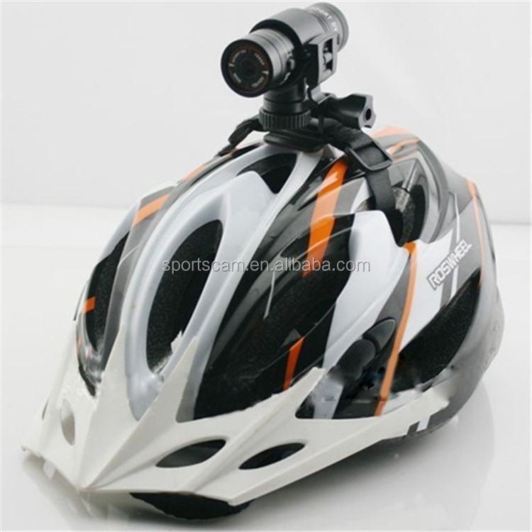 Cheap Cylinder Bike Helmet Camera Full Hd 1080p Sport Action
