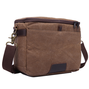 canvas dslr Camera case Shoulder Bag for men
