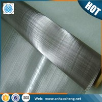 304 316 316L Stainless steel plain twill dutch woven wire mesh cloth