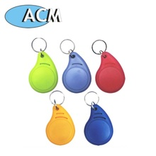 Hot Selling Keychain Custom Logo Plastic RFID Key Fob Hardware