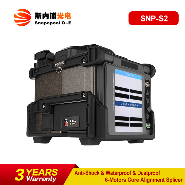 6 Motors Core Alignment Multifunction FTTH Fiber Optic Splicing Machine Equal to Sumitomo type-71c Fusion Splicer
