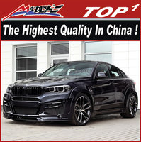 Body kits for new BMW X6 F16 for LM Wide Body Parts