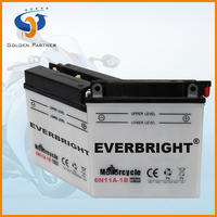 Automobiles & motorcycle 6v 11ah electronic motor battery