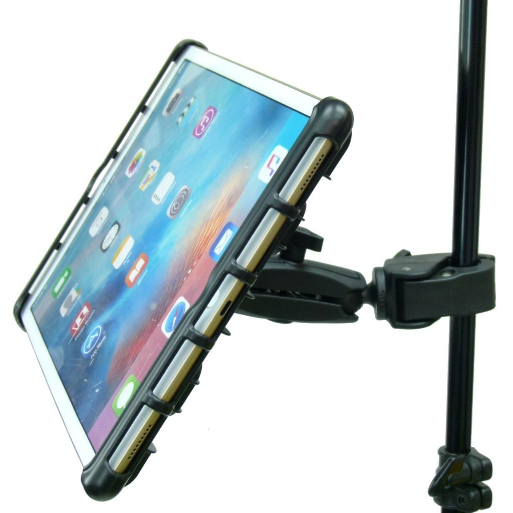 BuyBits Extended Music / Microphone / Gig Stand Holder Mount for Apple iPad PRO