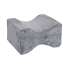 Memory Foam Knee Pillow Dark Gray